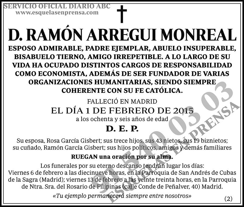Ramón Arregui Monreal